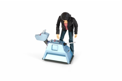 "Doctor Who 5.5"" Action Figure Set: Sarah Jane and K9 Perspective: top"