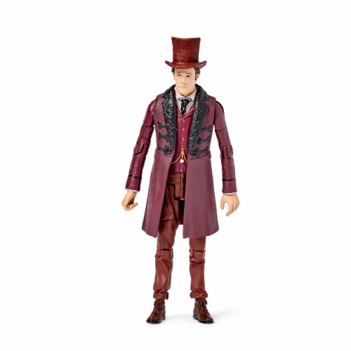 """Doctor Who The Impossible Set w/ 11th Doctor & Oswin Oswald 5"""" Action Figures Perspective: top"""