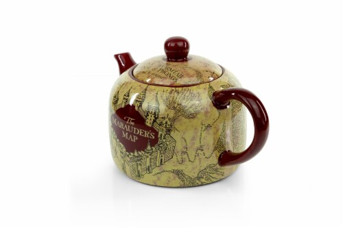 Harry Potter Marauder's Map Teapot | Decorative Collectible | 40-Ounce Capacity Perspective: top