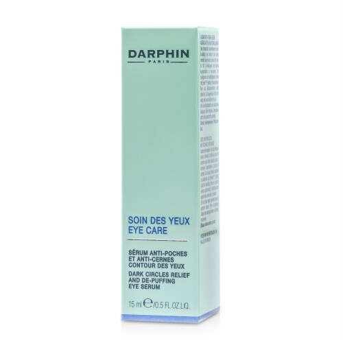 Dark Circles Relief And De-Puffing Eye Serum by Darphin for Unisex - 0.5 oz Serum Perspective: top