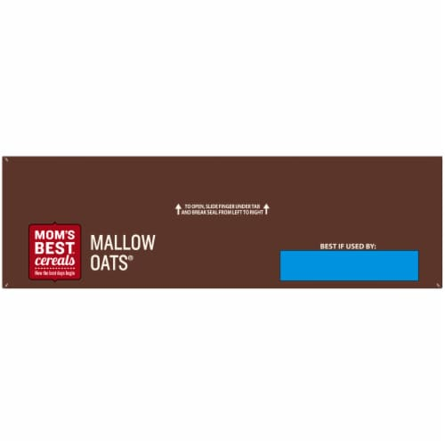 Mom's Best Mallow Oats Cereal Perspective: top
