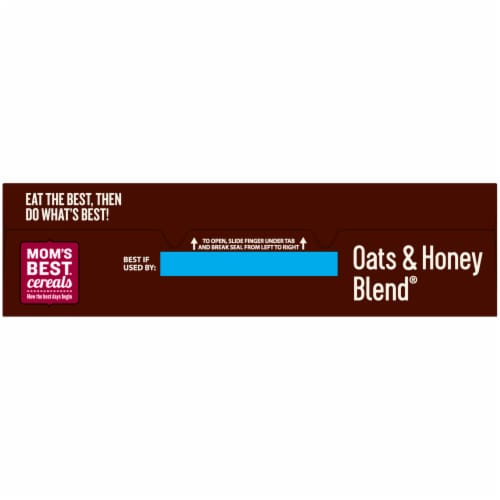 Mom's Best® Oats & Honey Blend Cereal Perspective: top