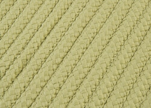 Colonial Mills Simply Home Solid Rugs - Celery Perspective: top