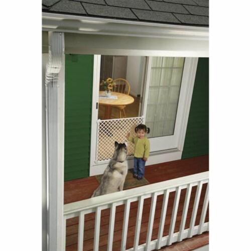 Safety 1st Screen Door Saver Baby/Kid/Pet Security Gate Perspective: top
