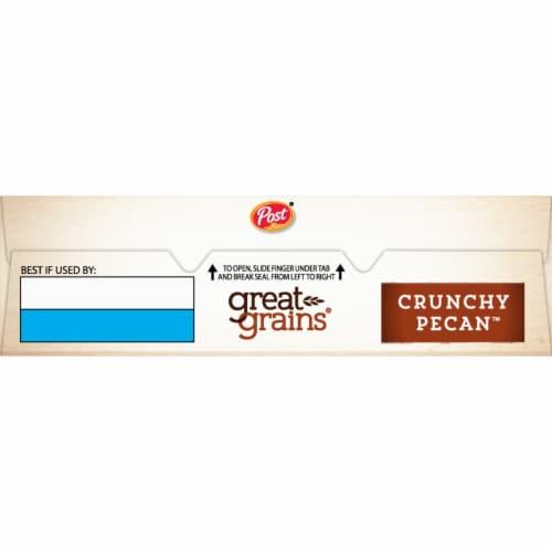 Post Great Grains Crunchy Pecan Cereal Perspective: top