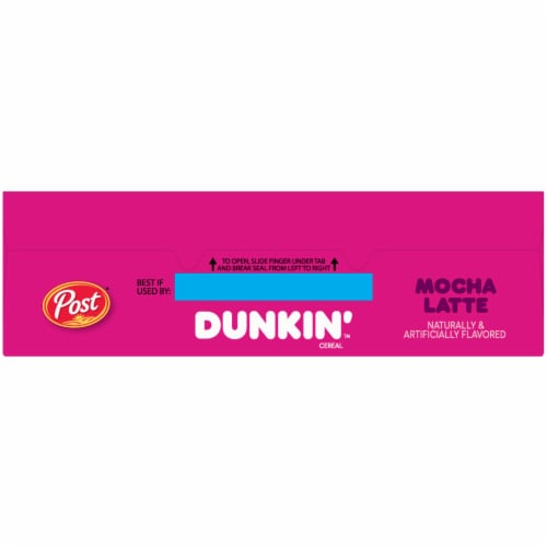 Dunkin' Mocha Latte Cereal Perspective: top