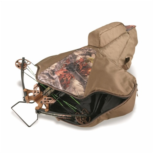 Guide Gear AKT-SL508 Deluxe Soft Sided Waterproof Padded Universal Crossbow Case Perspective: top