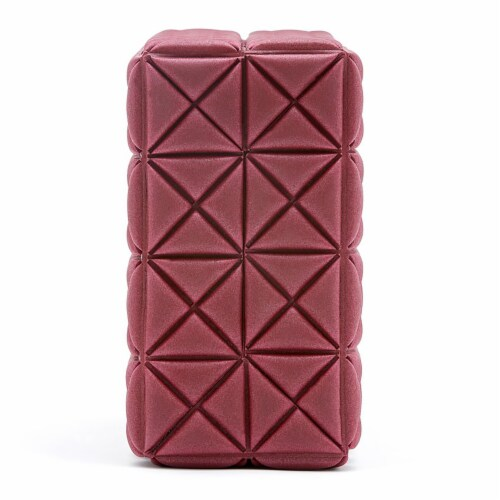 Adidas Lightweight Foam Soft Eco Yoga Block Exercise Workout Equipment Accessory Perspective: top