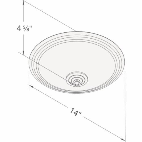Delta BreezGreenBuilder 100 CFM 1.5 Sones 120V Bath Exhaust Fan with LED Light Perspective: top