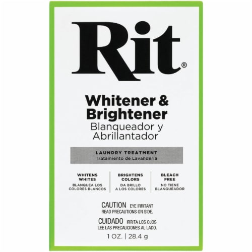 Rit 1 Oz. Fabric Whitener & Brightener Laundry Booster 83500 Perspective: top