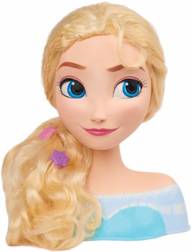 Just Play Disney Frozen Elsa Styling Head Perspective: top