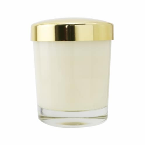 Floris Scented Candle  Rose & Oud 175g/6oz Perspective: top