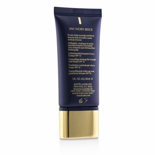 Estee Lauder Double Wear Maximum Cover Camouflage Make Up (Face & Body) SPF15  #3N1 Ivory Bei Perspective: top