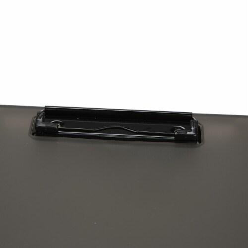 Mind Reader Plastic Storage Clipboard 6 - Pack - Black Perspective: top