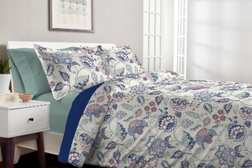 Martha Stewart Amara Jacobean Comforter Set - 3 Piece Perspective: top