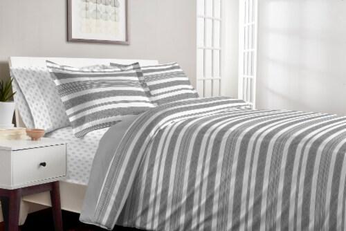 Martha Stewart Balboa Stripe Comforter Set - 3 Piece Perspective: top