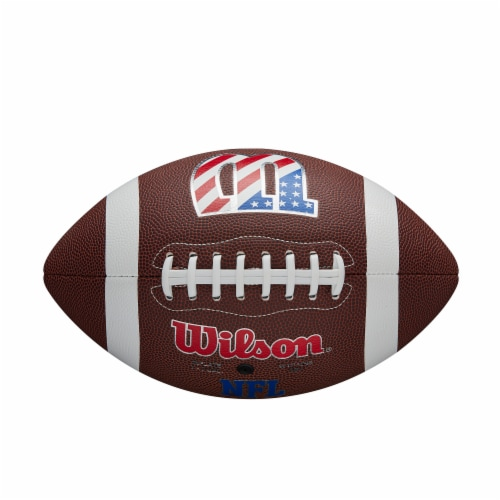 Wilson W Legend Official Football Perspective: top