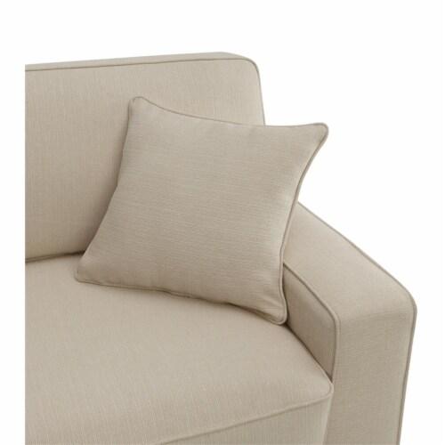 Serta Palisades 78 Sofa Cream Perspective: top