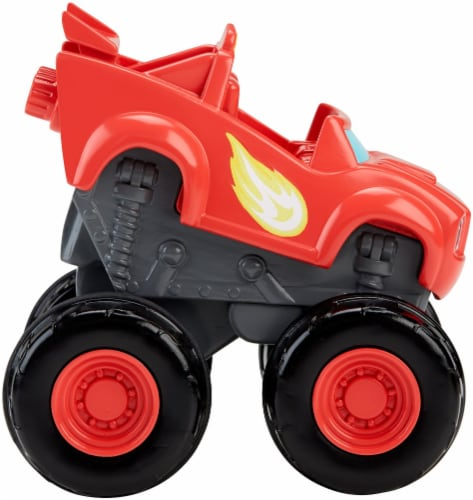 Fisher-Price® Blaze and the Monster Machines Slam & Go Blaze Vehicle Perspective: top