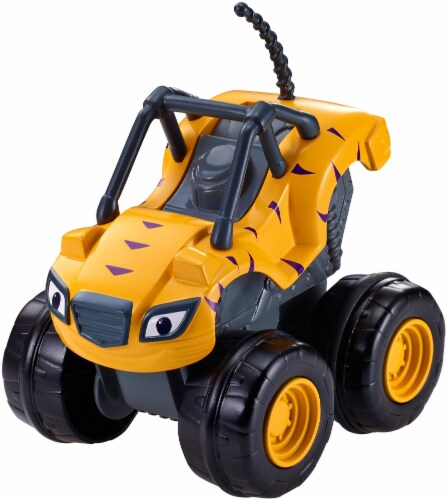 Fisher-Price® Blaze and the Monster Machines Slam & Go Stripes Vehicle Perspective: top