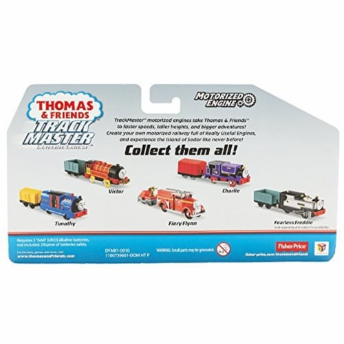Fisher-Price® Thomas & Friends TrackMaster Fiery Flynn Motorized Engine Toy Perspective: top