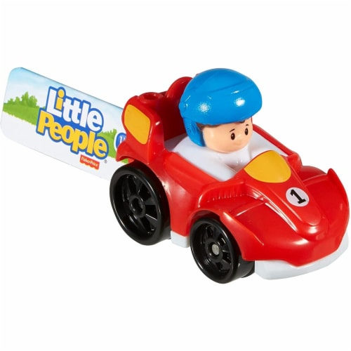 Fisher-Price® Little People Wheelies Vehicle Perspective: top