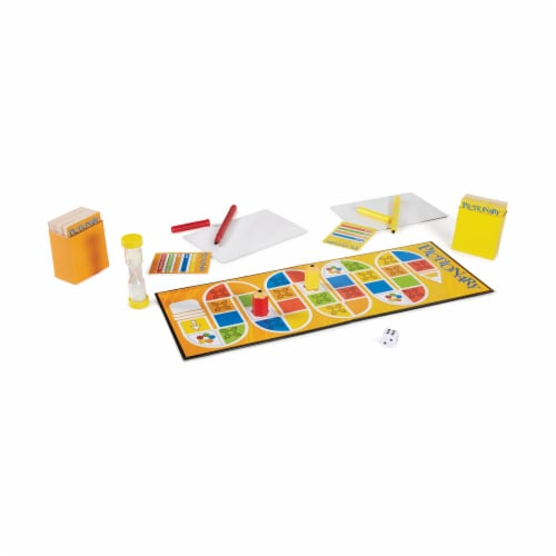Mattel Pictionary Board Game Perspective: top
