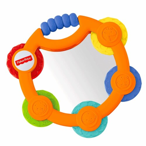 Fisher-Price Tambourine & Maracas Gift Set Perspective: top