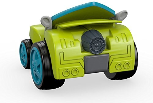Fisher-Price® Nickelodeon Blaze & the Monster Machines Zeg Race Car Toy Perspective: top