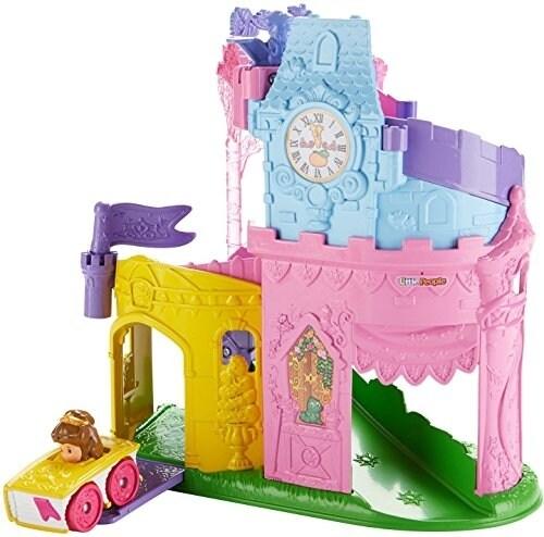 Fisher-Price Little People Disney Princess Wheelies Playset Doll Perspective: top