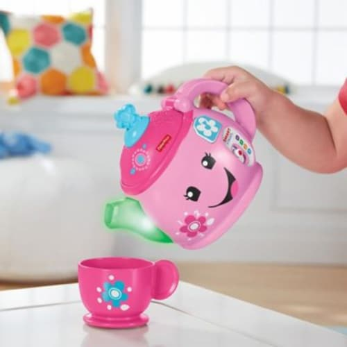 Fisher-Price Laugh & Learn Sweet Manners Tea Set Perspective: top