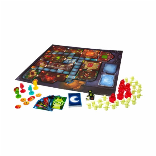 Mattel Ghost Fightin Treasure Hunters Board Game Perspective: top