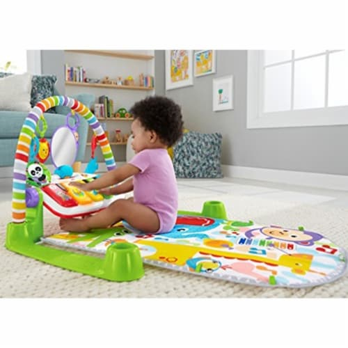 Fisher-Price Deluxe Kick 'n Play Piano Gym Perspective: top