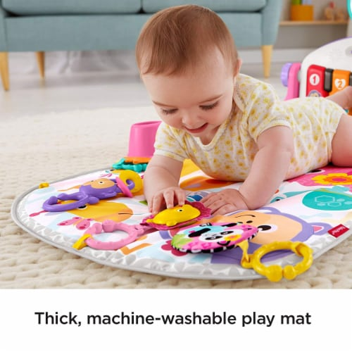 Fisher-Price® Kick & Play Piano Baby Playset Perspective: top