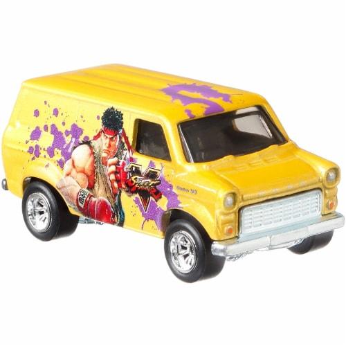 Hot Wheels Pop Culture Ford Transit Super Van Perspective: top
