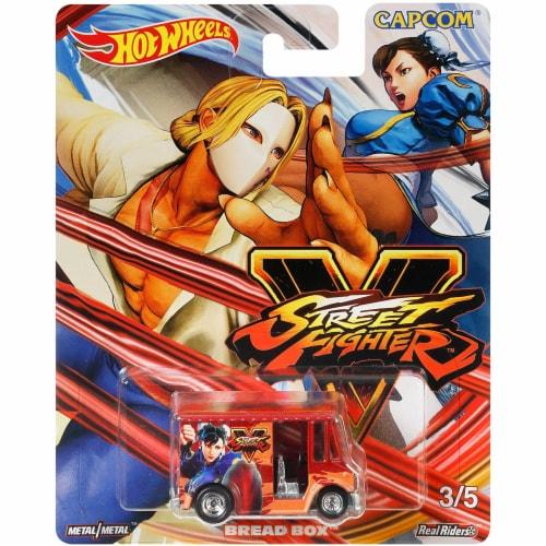 Mattel Hot Wheels® Pop Culture Bread Box Car Perspective: top