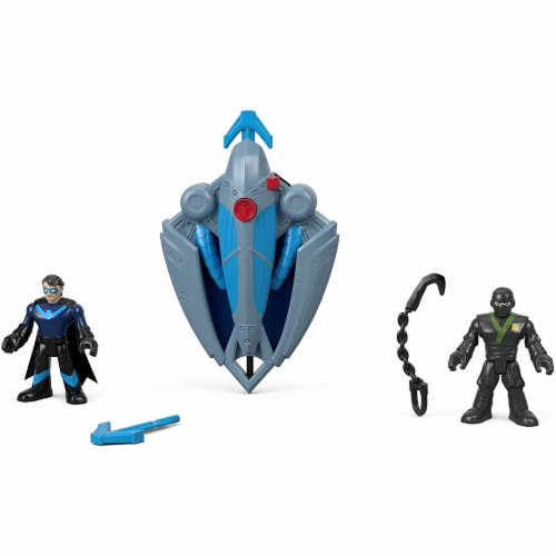 Fisher-Price Imaginext DC Super Friends, Ninja Nightwing & Glider Perspective: top