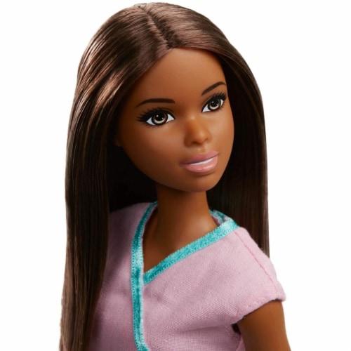 Barbie Nurse Doll, Brunette Perspective: top