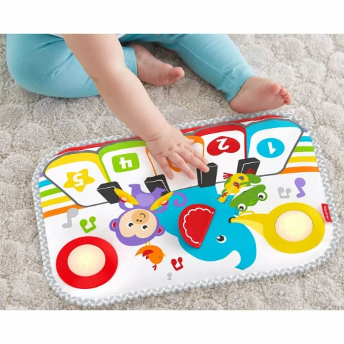 Fisher Price® Smart Stages Kick And Play Crib Piano Perspective: top