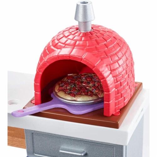 Mattel Barbie® Outdoor Furniture Brick Oven Playset Perspective: top