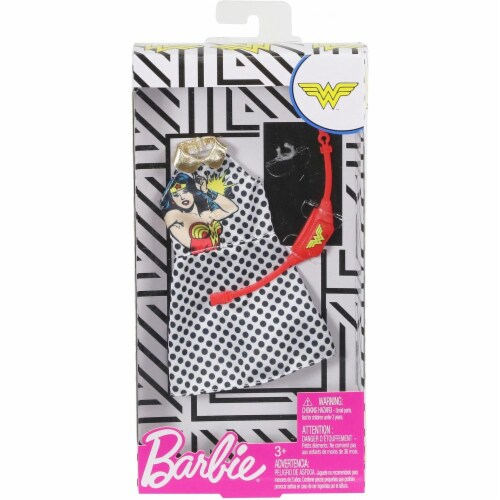 Barbie Fashions - Wonder Woman Polka Dots Perspective: top