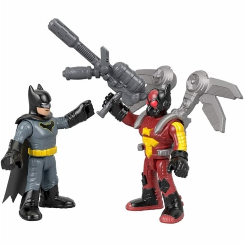 Fisher-Price Imaginext DC Super Friends - Firefly & Batman Perspective: top