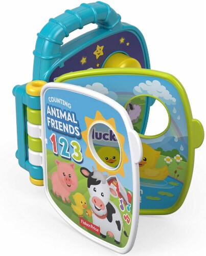 Fisher-Price Laugh & Learn Counting Animal Friends Perspective: top