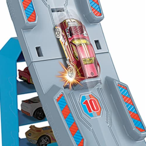 Mattel Hot Wheels® Hill Climb Champion Playset Perspective: top