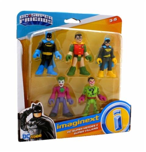 Fisher-Price® Imaginext® DC Heroes & Super Villains Figure Set Perspective: top