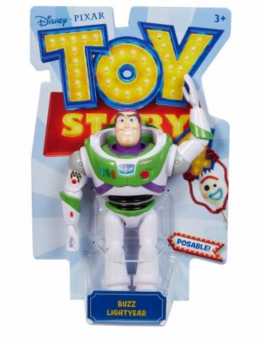 Mattel Disney Pixar Toy Story 4 Buzz Lightyear Figure Perspective: top