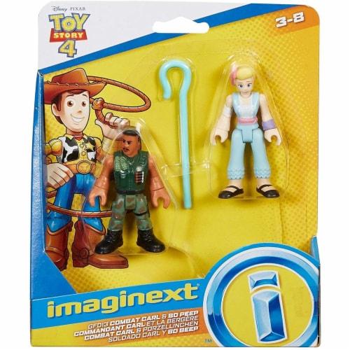 Imaginext® Toy Story Disney Pixar 4 Combat Carl and Bo Peep Figurines Perspective: top
