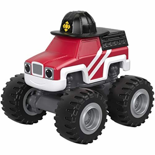 Fisher-Price® Nickelodeon Blaze & The Monster Machines Fire Rescue Firefighter Vehicle Perspective: top