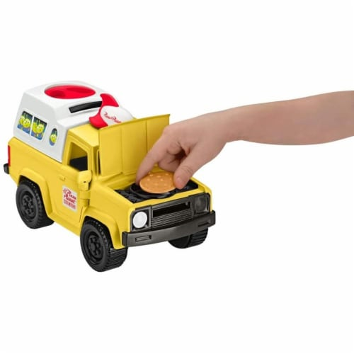 Fisher-Price Disney/Pixar Toy Story 4 Pizza Planet Truck Perspective: top