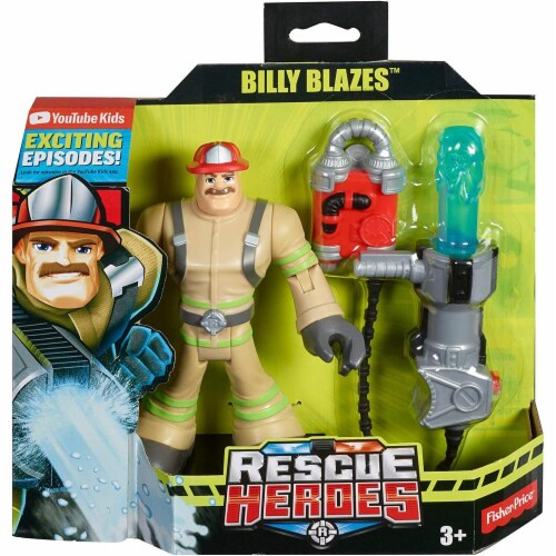 Fisher-Price® Rescue Heroes Billy Blazes Perspective: top